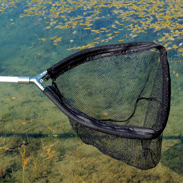 Pond cleaning net heavy duty pond net the pond guy for Garden pond cleaning nets