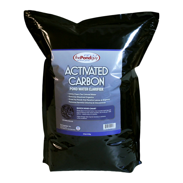 Activated carbon for ponds pond water clarifier for Charcoal pond filter