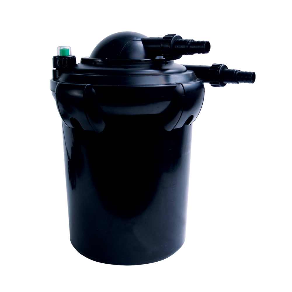 Uv pond filter uv pressure filter the pond guy for Ultraviolet pond filter