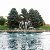 The Pond Guy® AquaStream™ Premium Double Arch Fountain Nozzle 1/2 HP