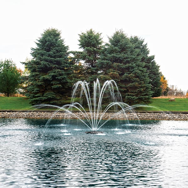 The Pond Guy AquaStream Premium Double Arch Fountain Nozzle 1/2 HP