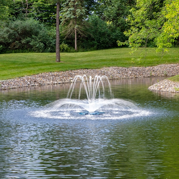 The Pond Guy® AquaStream Deluxe Crown & Arch Fountain Nozzle 1/2 HP