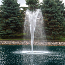 The Pond Guy(r) AquaStream(tm) 1/2 HP Fountain Geyser Nozzle Included