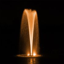AquaStream™ 1/2 HP Fountain & RGBW Color-Changing Light Set, 2 to 8 Lights