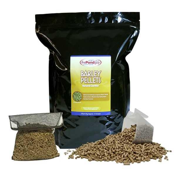 The Pond Guy Barley Straw Pellets