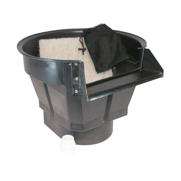 Waterfall filters for ponds waterfall pond filter for Garden pond no filter
