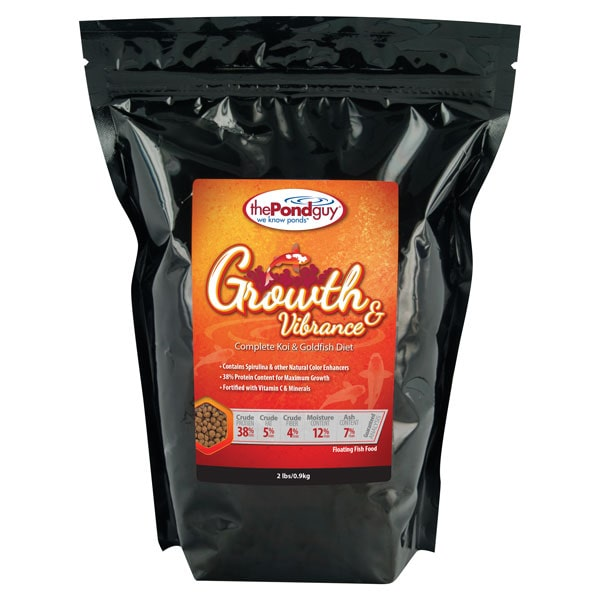 The Pond Guy Growth & Vibrance Fish Food