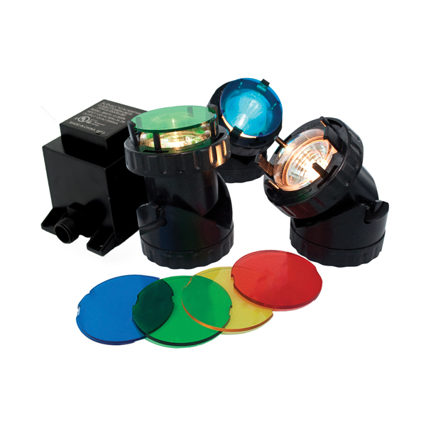 The Pond Guy® HalogenMini™ 3-Pack Halogen Light Kit