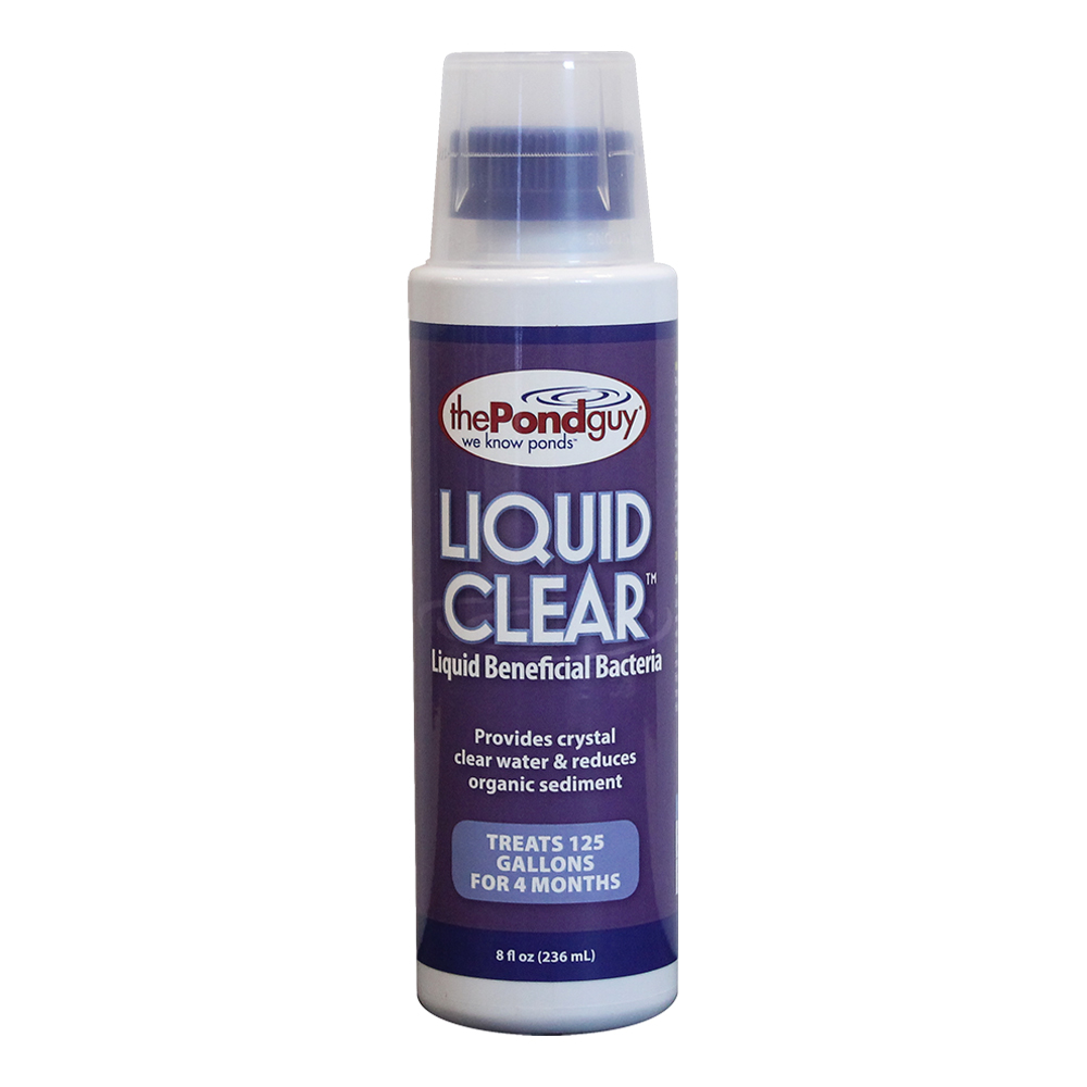 Liquidclear bacterial pond cleaner the pond guy for Pond cleaner