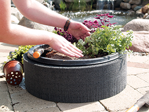 Floating Island Planter