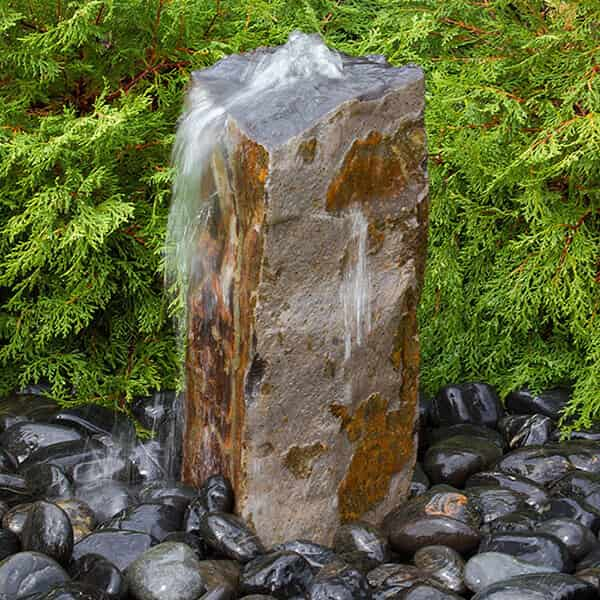 Rustic Basalt Fountain Kits