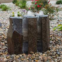 Split Polished Basalt Fountain Kit