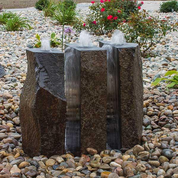 Split Polished Basalt Fountain Kit