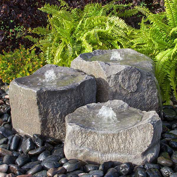 GFRC Triple Falls Fountain Kits