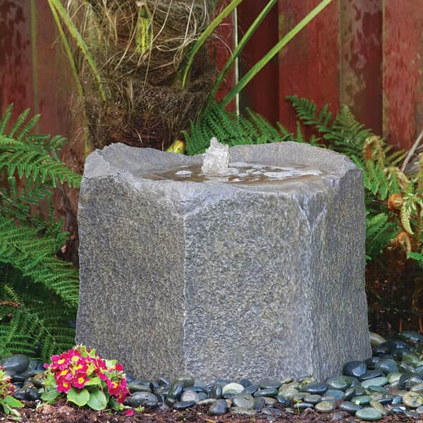 Bubbling Boulder Fountain Kit