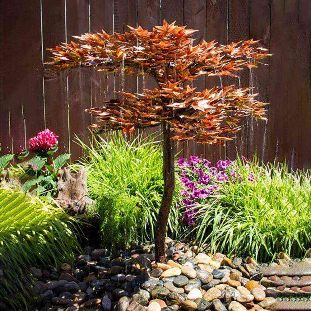 Japanese Copper Maple Tree Fountain Kits The Pond Guy