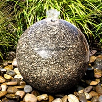 Granite Sphere Fountain Kit