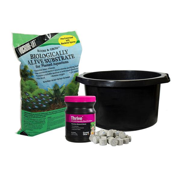 Water Lily & Water Lotus Planting Kits
