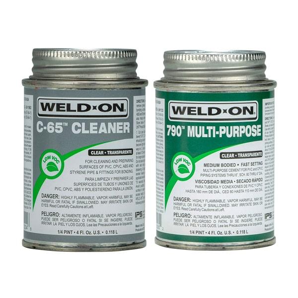Weld-On Multi-Purpose PVC Glue & Primer