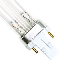 "13 Watt UV Bulb (2 Pin - Double Clip) - 7.25"" Long"