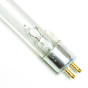 8 Watt Replacement UV Bulb T5B Bi-Pin Base 12 Long