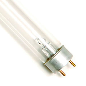 25 Watt Replacement UV Bulb T8B Bi-Pin Base 17.75 Long