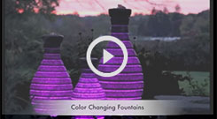 Atlantic(tm) Color Changing Vase Fountain