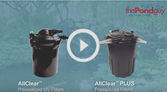 The Pond Guy(r) AllClear(tm) Pressurized Filter Video