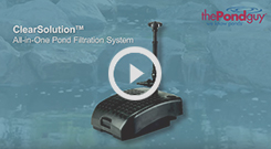 The Pond Guy(r) ClearSolution(tm) Filtration System Video