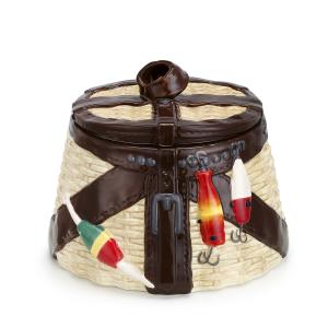 Vintage Creel Cookie Jar