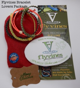 Hand Made Gifts Using Recycled Fly Line - Bracelet Lovers Package