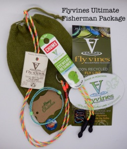 Hand Made Gifts Using Recycled Fly Line - Ultimate Fisherman Package