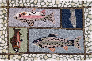 Mountain Trout Indoor Rugs Home Amp Cabin Store Name