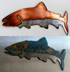 Trout Ornament & Trout Magnets