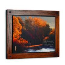 Autumn Fly Fishing Wall Art