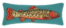 Trout Right Hook Pillow