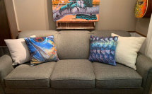 Deyoung Throw Pillows