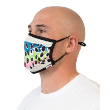 Adult Trout / Fish Face Mask 2 Pack