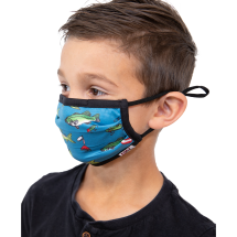 Kids Trout / Fish  Face Mask 2 Pack