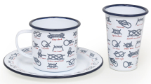 Enamelware With Knots