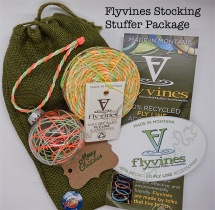 Hand Made Gifts Using Recycled Fly Line - Stocking Stuffer Package