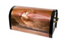 Copper Rugged Rural Mailbox