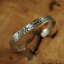 Silver Trout Bracelet Trout 2.0 Stars & Trees