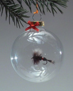 Royal Wulff Real Fly Ornament