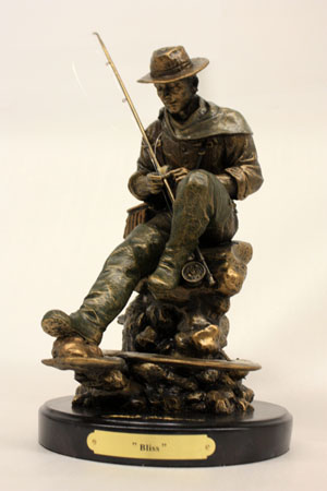 """""""Bliss"""" Montana Bronze Sculpture"""