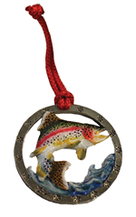 Leaping Trout Collectible Ornament