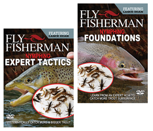 Set of Fly Fisherman Nymphing Foundations & Expert Techniques DVD's