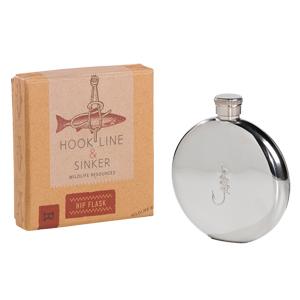 Hook Line & Sinker Hip Flask