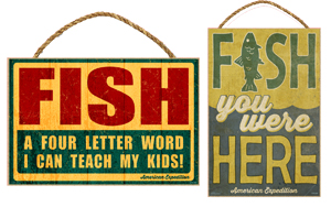 "Wooden Signs 7x10.5"" Inches"