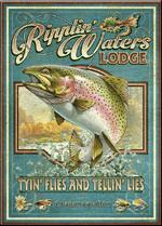 Vintage Advertising Tin Sign